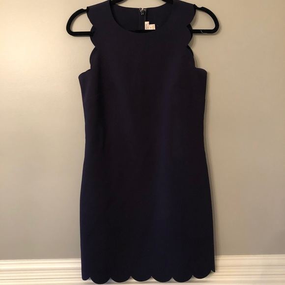 J. Crew Dresses & Skirts - J. Crew Scalloped Hem Dress